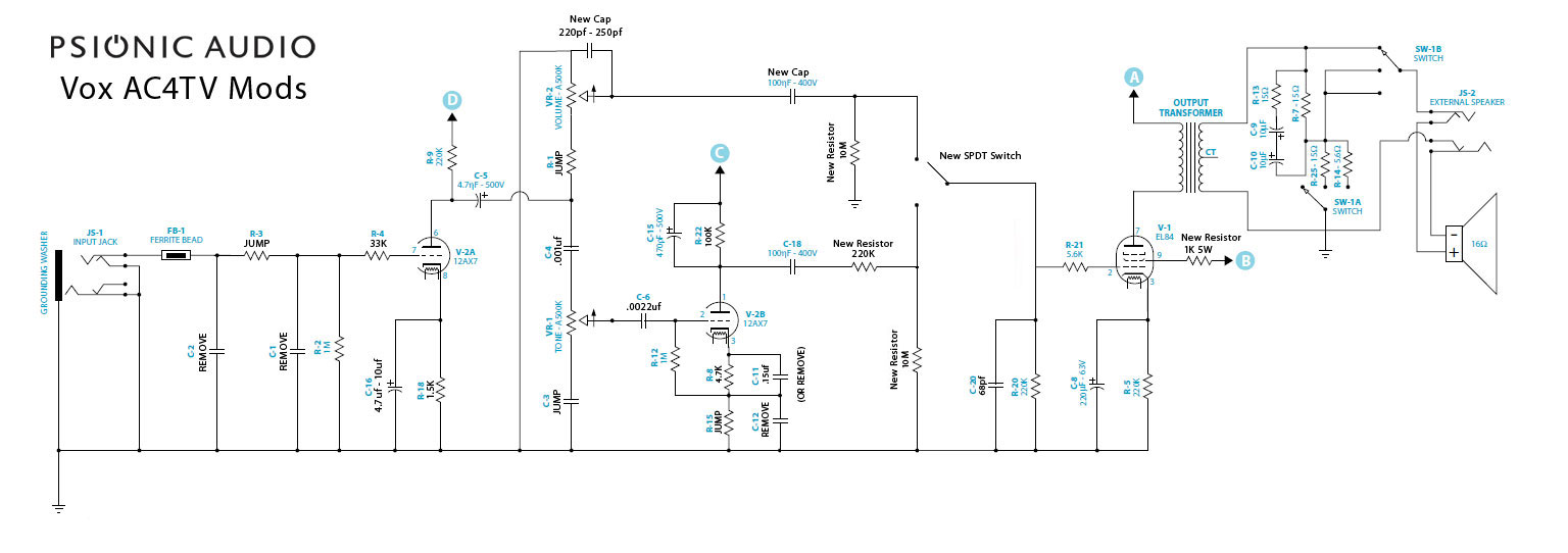 Vox AC4 Schematic http://www.mylespaul.com/forums/squawk-box/165002-some-mods-vox-ac4-tv.html